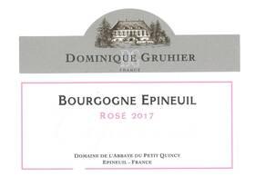 Domaine Dominique Gruhier - Bourgogne Epineuil rosé Capucine