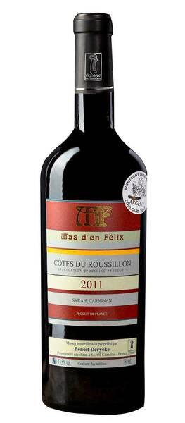 Mas d'en felix  - Côtes du Roussillon 2011