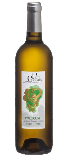 Domaine Pietri-Geraud - Collioure blanc - L'écume