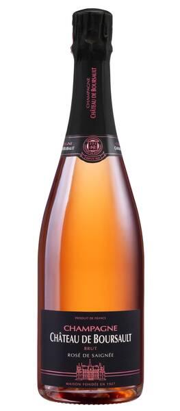 Champagne Château de Boursault - Brut - Rosé de Saignée