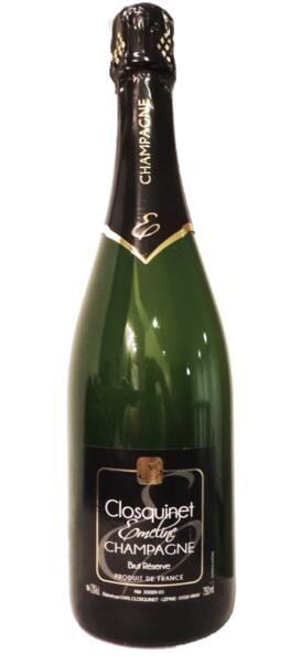 Champagne Emeline Closquinet - Brut Réserve