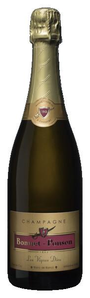 Champagne Bonnet Ponson - Les Vignes Dieu, Blanc de Blancs