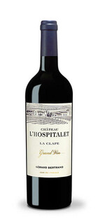 Chateau l'Hospitalet Grand Vin rouge La Clape 2018 Gerard Bertrand