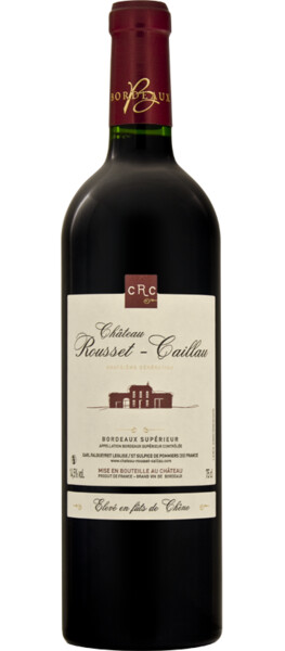 Vignobles Falgueyret Leglise - Château Rousset Caillau Bordeaux supérieur