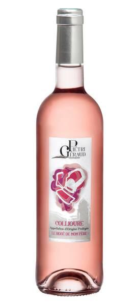 Domaine Pietri-Geraud - Collioure rosé - Le Rosé de mon Père