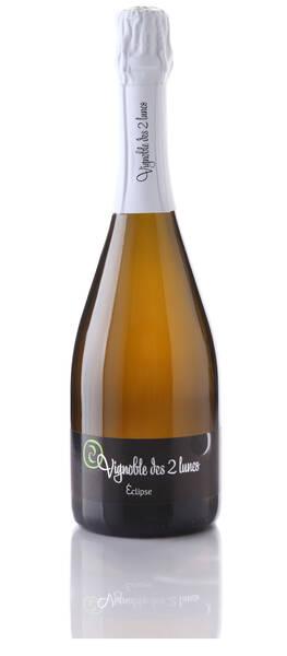 Vignoble des 2 lunes - Crémant blanc Eclipse * brut nature zéro dosage - Pétillant - 2011