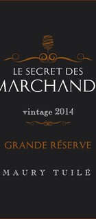 Le Secret des Marchands, Vin doux naturel, AOP Maury 2014