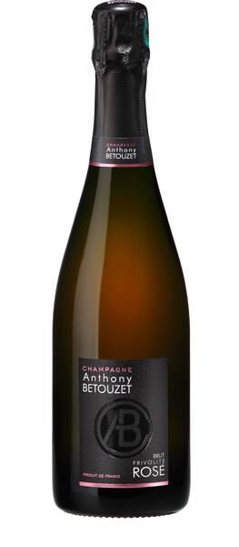 Champagne Anthony BETOUZET - Champagne Brut Rosé Frivolité