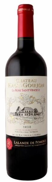 Château Haut-Goujon - La Rose Saint Vincent de Haut Goujon 2012