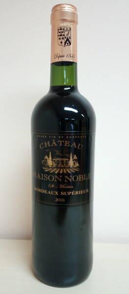 Château Maison Noble St Martin - Bordeaux Supérieur Rouge