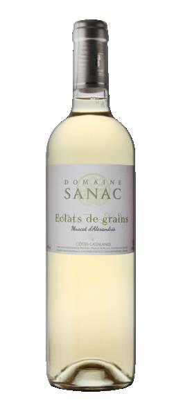 DOMAINE SANAC - ECLATS DE GRAINS MUSCAT D'ALEXANDRIE