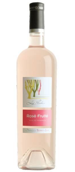 Château Saint Jean Lez Durance - Rosé Fruité - cuvée Les Platanes