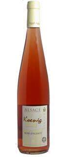 Rosé d'Alsace KOENIG 2018 VEGAN