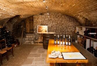 Le caveau degustation du Domaine Gueguen