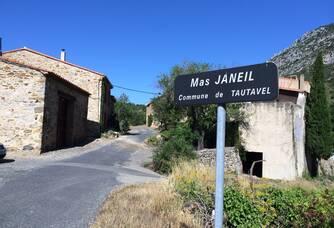 L'entrée du MAS JANEIL