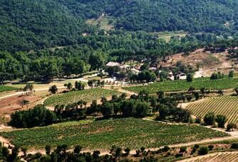 Photo aérienne du Domaine Sainte Marie