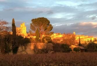 Le village de Châteauneuf du Pape