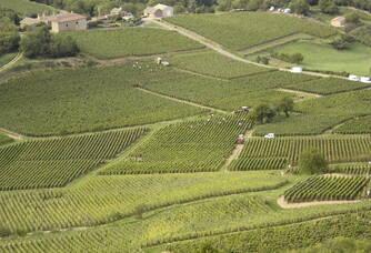 Vue aérienne sur le Château Des Correaux