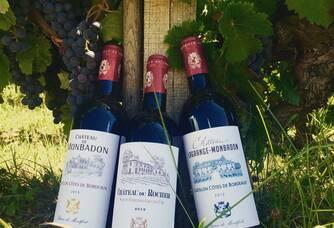 Gamme des vignobles du Baron de Montfort