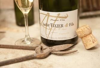 Champagne André Tixier et Fils - Une bouteille