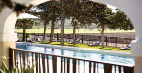 Château l'Hospitalet - La piscine