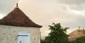 Clos Monicord - Un arc-en-ciel au dessus du vignoble