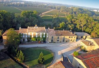 Château Auzias-Paretlongue - Le château