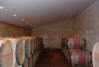 Château La Croix Meunier - La cave