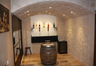 Champagne André Tixier et Fils - Le caveau de dégustation