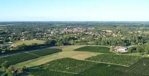 Domaine de Lagajan - Le vignoble vu des airs