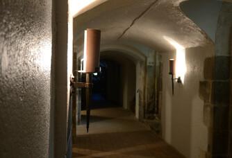 Château du Cléray - Les caves voûtées
