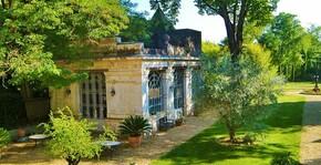 Château Rieutort - Le parc du château