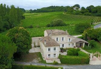 Château la Closerie de Fronsac - Vue aérienne du domaine