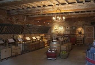 Mas Alart - La cave, caveau de dégustation