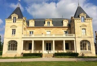 Château Léognan - La façade du château