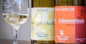 Dégustation vins d'Alsace Bio Domaine Greiner Riesling Schoenenbourg et Cuvée de l'Archer