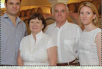 La famille Rambier au Mas du Notaire