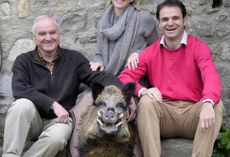 L'équipe du Domaine Haut-Lirou