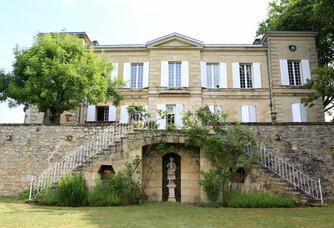 Vue sur le Château Lamothe de Haux