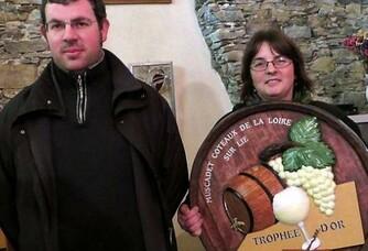 Olivier et Carmen Suteau du Domaine du Champ Chapron