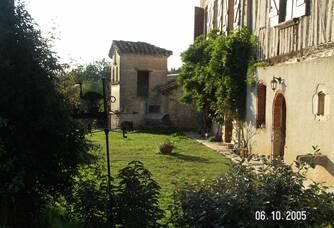 Vue de l'arrière du Château
