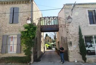L'entrée au Domaine de Fontenelles