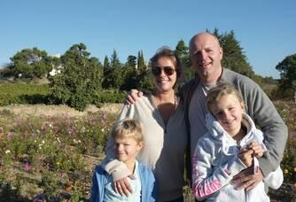 La famille du Domaine Mandourelle