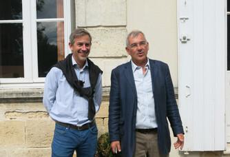 Patrice et Ghislain du Château Fourcas Dupré